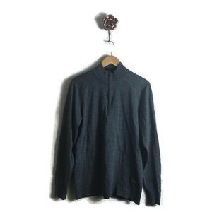 Smartwool Kiva Ridge Half-Zip Merino Wool Sweater